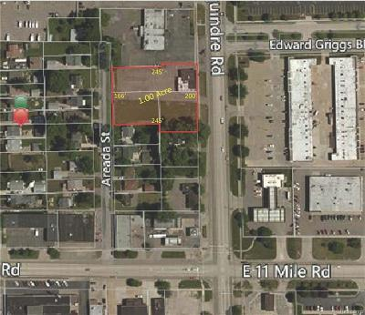 Commercial Lots & Land For Sale: 27101 Dequindre Road