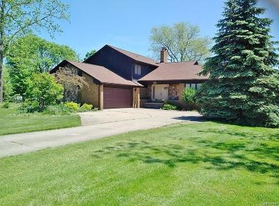 Grosse Ile Twp MI Single Family Home For Sale: $698,500