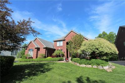 West Bloomfield Twp MI Single Family Home For Sale: $675,000