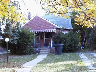 Detroit Single Family Home For Sale: 8661 Beechdale Street