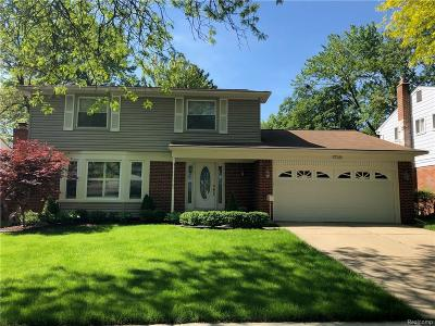 Plymouth MI Single Family Home For Sale: $329,500