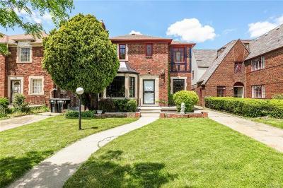 Detroit Single Family Home For Sale: 4070 Fullerton Street