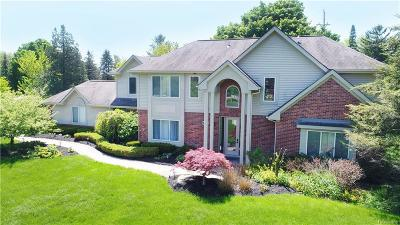 West Bloomfield Twp MI Single Family Home For Sale: $449,900