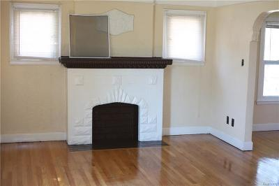 Detroit Multi Family Home For Sale: 15340 Ward Street