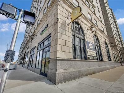 Detroit Condo/Townhouse For Sale: 15 E Kirby #1011 Street #1011