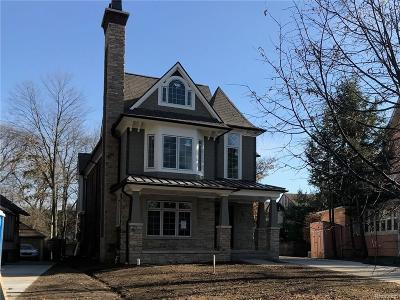 Birmingham Single Family Home For Sale: 909 Southfield Road W