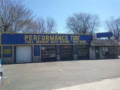 Commercial For Sale: 4265 W Jefferson Avenue