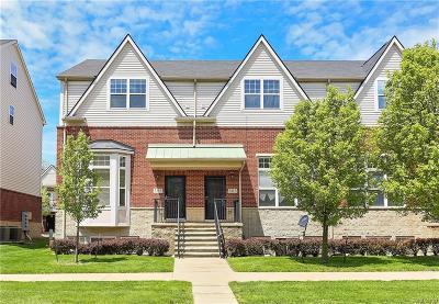 Detroit Condo/Townhouse For Sale: 301 E Palmer Street