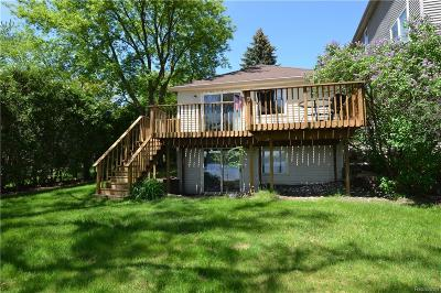City Of The Vlg Of Clarkston, Clarkston, Independence, Independence Twp Single Family Home For Sale: 4591 Ennismore Drive
