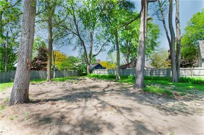 Rochester, Rochester Hills Residential Lots & Land For Sale: 221 N Helen