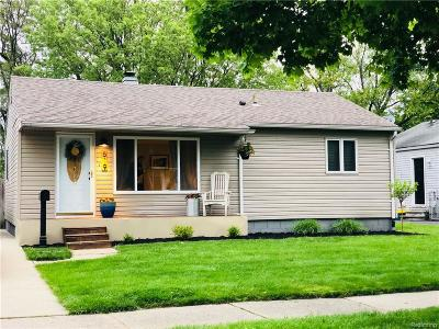 Royal Oak Single Family Home For Sale: 619 Millard Avenue