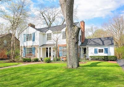 Birmingham Single Family Home For Sale: 337 Fairfax Street