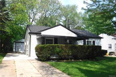 Royal Oak Single Family Home For Sale: 3905 Linwood Avenue