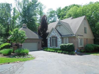 Farmington Hills Condo/Townhouse For Sale: 29405 Windmill Court #7