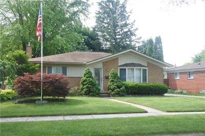 Livonia Single Family Home Sold: 29145 Jacquelyn Drive