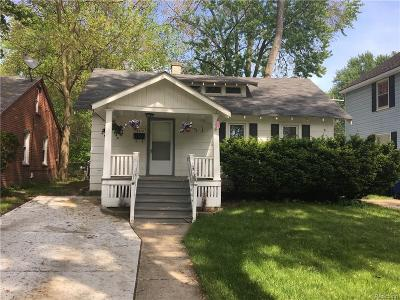 Redford Twp Single Family Home For Sale: 18412 Garfield
