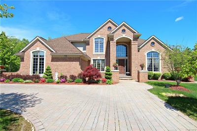 West Bloomfield, West Bloomfield Twp Single Family Home For Sale: 7220 Hidden Creek Court