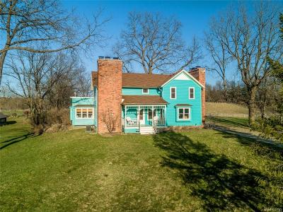 Lapeer County Single Family Home For Sale: 3725 Wilder Road