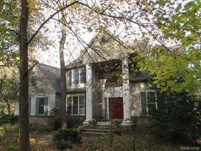 Clinton Twp Single Family Home For Sale: 20975 Moxon Drive