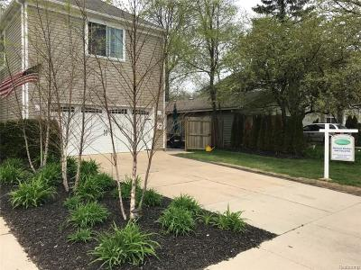 Birmingham, Bloomfield Hills Single Family Home For Sale: 1325 E Fourteen Mile Road