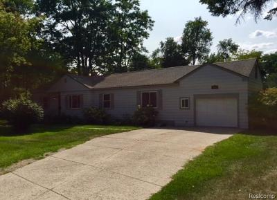 Waterford Single Family Home For Sale: 1227 Tull Road