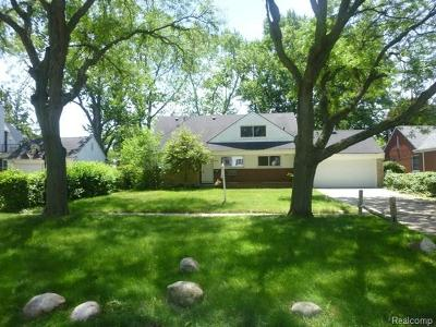 Southfield Single Family Home For Sale: 17259 Cornell Road
