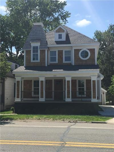 Royal Oak Single Family Home For Sale: 413 N Washington Avenue