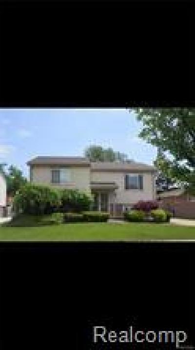 Brownstown Twp, Flat Rock Single Family Home For Sale: 32151 Covington Road