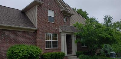 West Bloomfield Twp Condo/Townhouse For Sale: 7400 Brookberry Court #1