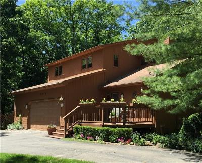 Oakland Twp Single Family Home For Sale: 1295 Kern Road