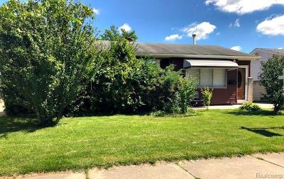 Westland Single Family Home For Sale: 1243 Windham Street