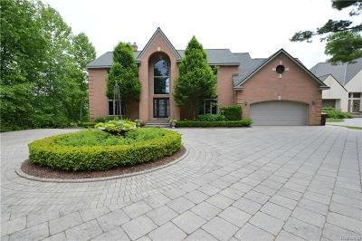 Commerce Twp Single Family Home For Sale: 1440 Commerce Shores Drive