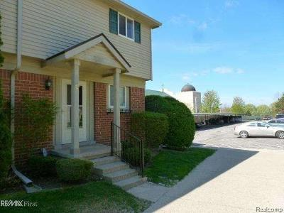 Shelby Twp Condo/Townhouse For Sale: 2188 Orchard Crest