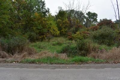 Washington Twp Residential Lots & Land For Sale: 31 Mile Road