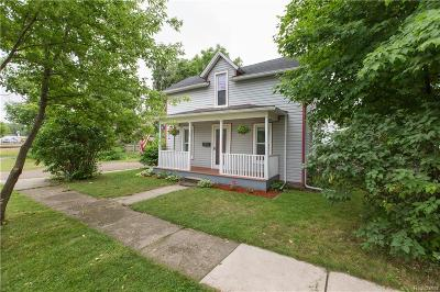 South Lyon Single Family Home For Sale: 318 Godfrey Street