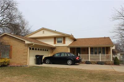 Allen Park Single Family Home For Sale: 10787 Seavitt Drive