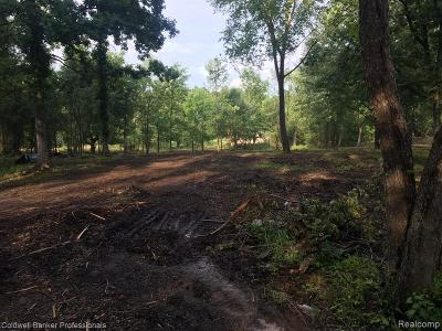Washington Twp Residential Lots & Land For Sale: Parcel C Campground Road