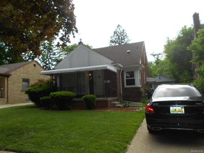 Dearborn Heights Single Family Home For Sale: 8431 Grayfield Street