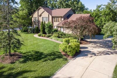 Bloomfield Hills Single Family Home For Sale: 2462 Hunters Pond
