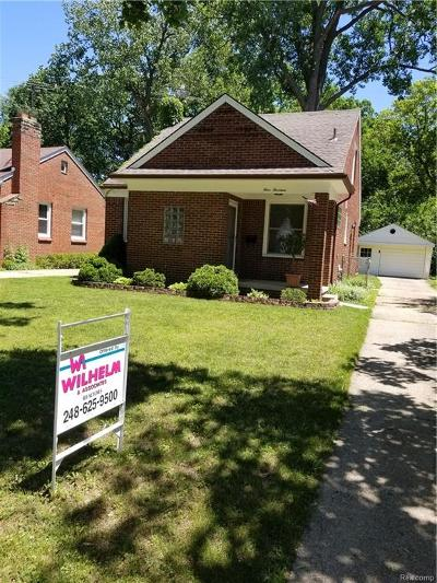 Single Family Home For Sale: 414 N Blair Avenue