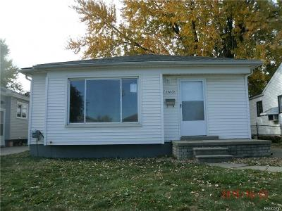Warren, Eastpointe, Roseville, St Clair Shores Single Family Home For Sale: 24875 Brittany Avenue
