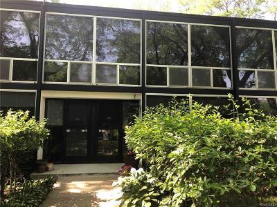 Detroit Condo/Townhouse For Sale: 1419 Nicolet Pl