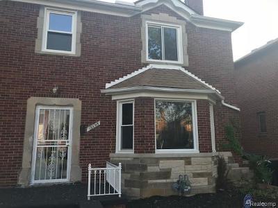 Detroit Single Family Home For Sale: 18495 Appoline Street