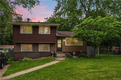 West Bloomfield, West Bloomfield Twp Single Family Home For Sale: 4154 Fallow Street