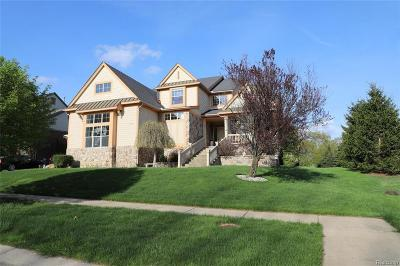 Commerce Twp Single Family Home For Sale: 3133 Estate View Court
