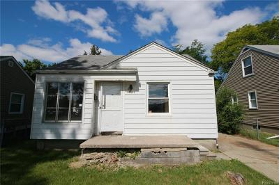 Redford Twp Single Family Home For Sale: 19931 Beech Daly Road