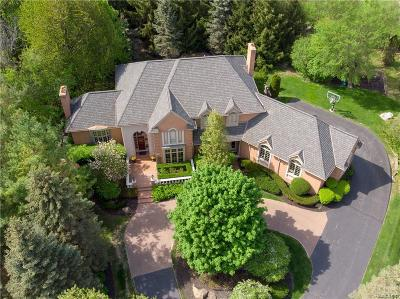 Rochester Hills Single Family Home For Sale: 3960 Oak Pointe Court