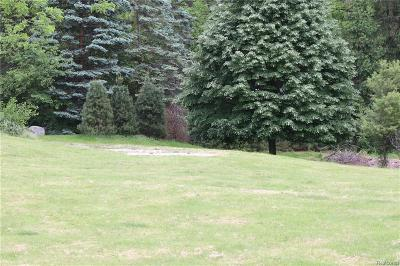 Bloomfield Twp Residential Lots & Land For Sale: 1615 Keller Lane
