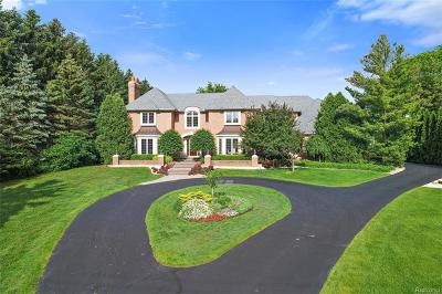 Bloomfield Hills Single Family Home For Sale: 19 Nantucket Drive