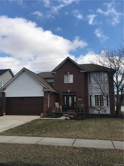 Brownstown Twp, Flat Rock Single Family Home For Sale: 24969 Emily Drive